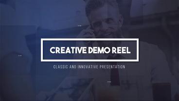 Creative Demo Reel Premiere Pro Template