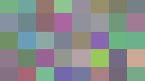 Abstract multicolor squares loopable motion background Footage