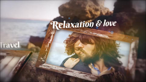 Beach Memories Slide 2 After Effects Template