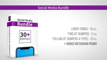Social Media Bundle After Effects Template