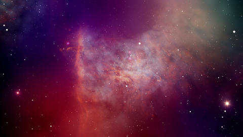 Colors in space Footage