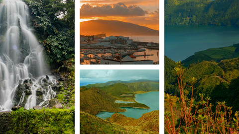 S01990_The Azores Collection - A video postcard of some of the most famous Bild