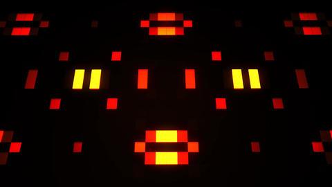 Sci-Fi Orange Red Artificial Intelligence AI - VJ Loop Background V2 Image
