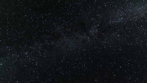 Night sky with twinkle stars and milky way time lapse Footage