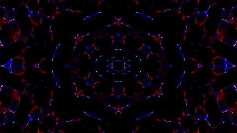 Color Particles Flickering Animation