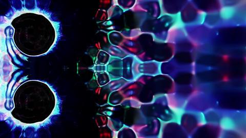 Organic Rising Disks Background Animation