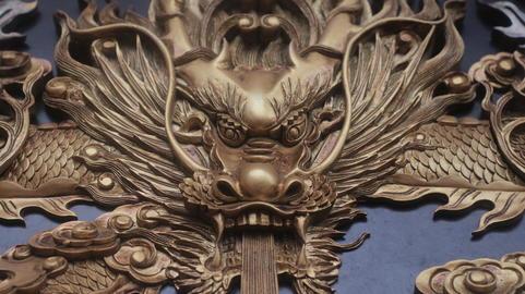 龍頭壁雕 Dragon フォト