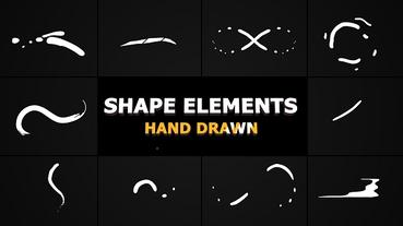Flash FX Shape Lines After Effects Template
