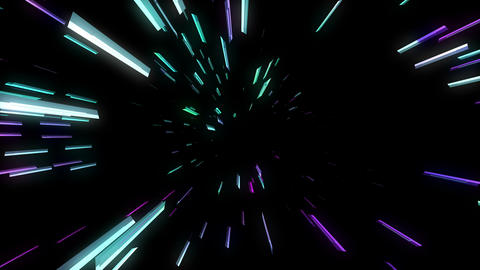 3 D Chaos 4K 05 Vj Loop stock footage