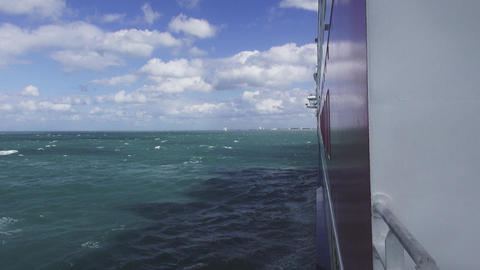North sea ferry between UK and France Live Action