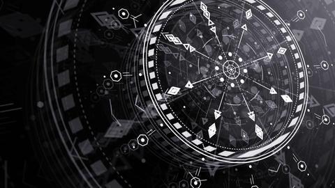 Sci Fi Stylish Footage 2 Animation