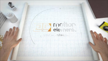 Blueprint Logo Reveals After Effects Template