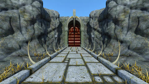 Ancient ruins 애니메이션