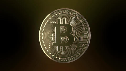 Bitcoin Spin Animation