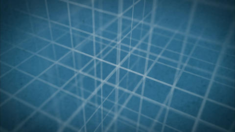 Grid Backdrop Texture Blueprint Animation