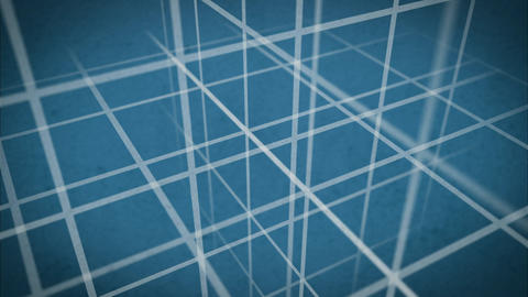 Grid Backdrop Blueprint Animation