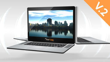 Laptop 30s Commercial (V.2) - After Effects Template After Effectsテンプレート
