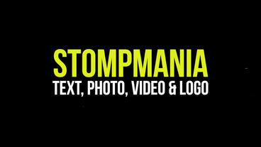 Typographic and Photo Stomp Opener Pack Premiere Proテンプレート