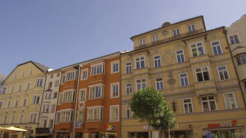 palaces Maria-Theresien-Strasse, Innsbruck Footage