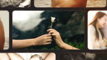 Romantic Photo Slideshow After Effectsテンプレート