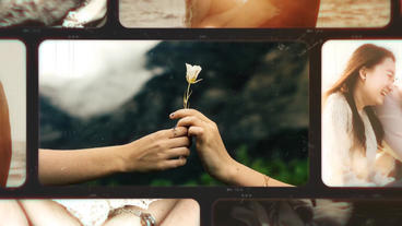 Romantic Photo Slideshow After Effects Template