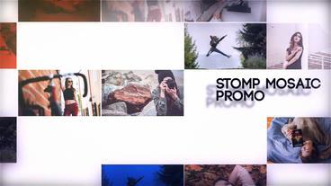 Stomp Mosaic Promo Plantilla de After Effects