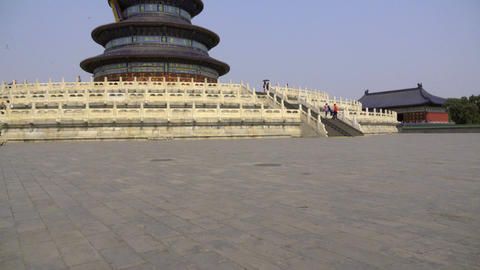 Pan to the Temple of Heaven Live Action