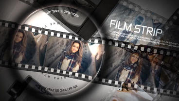 Film Slideshow After Effects Template