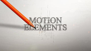 Drawing Logo Minimal After Effects Template