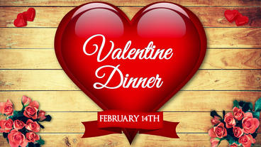 Restaurant Valentine Dinner Template After Effect