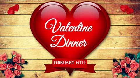 Restaurant Valentine Dinner After Effects Template
