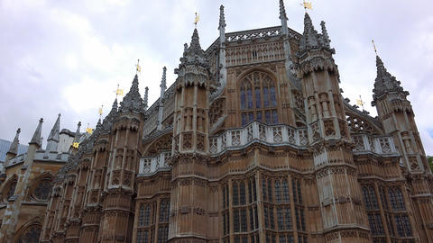 Westminster Abbey London Footage