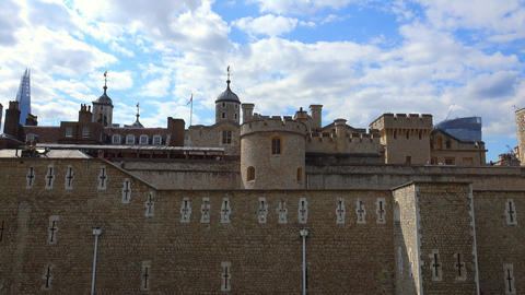 The Tower of London on a sunny day Live Action