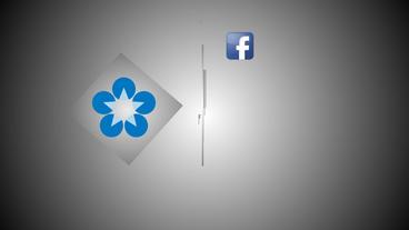 Social Media Logos Opener stock footage