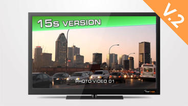 TV HD 15s Commercial (V.2) - After Effects Template After Effects Template