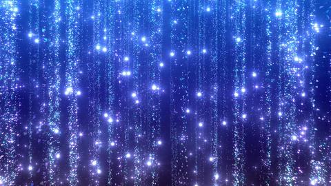 Particle Rain b slow 1t 4 K CG動画
