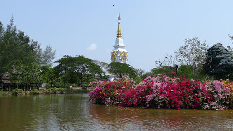 Phra That Bang Phuan, Nong Khai Footage