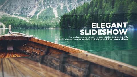 Elegant Slideshow After Effectsテンプレート