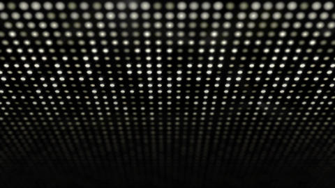 Big Led Lamp Panel Shines with Wave effect 3D GIF