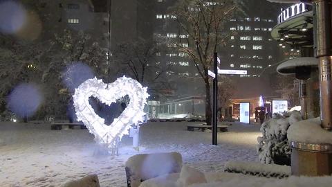 Akasaka snow 01 Footage