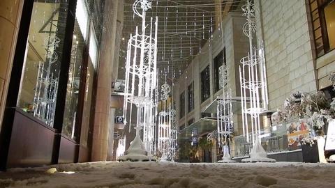 Akasaka snow 03 Footage