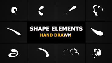 Shape Elements After Effects Template
