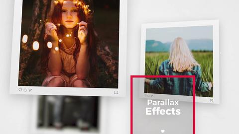 Square Photo - Premiere Slideshow Premiere Pro Template