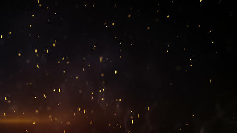 Sparkles and smoke in whirlwind seamless loop animation CG動画素材