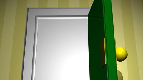 Door opening Animation