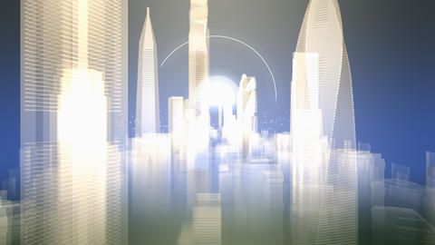 building and cityscape background animation Animation