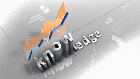 knowledge growing chart, statistic, data, performance Animation