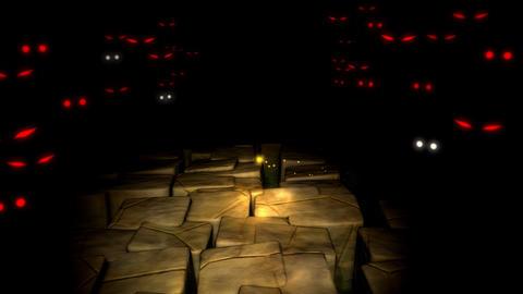 Spooky maze, monster, mystery CG動画