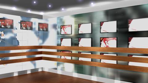 Virtual set 7 4k Animation