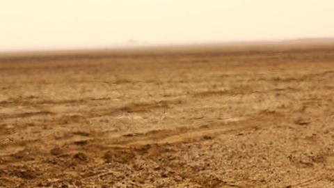 mirage in the desert Footage